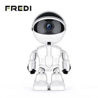 FREDI 1080P Cloud Home Security IP Camera Robot Intelligent Auto Tracking Camera Wireless WiFi CCTV Camera Surveillance Camera Electronic
